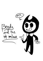 Bendy from Bendy and the ink machine by AwkwardCupcake13