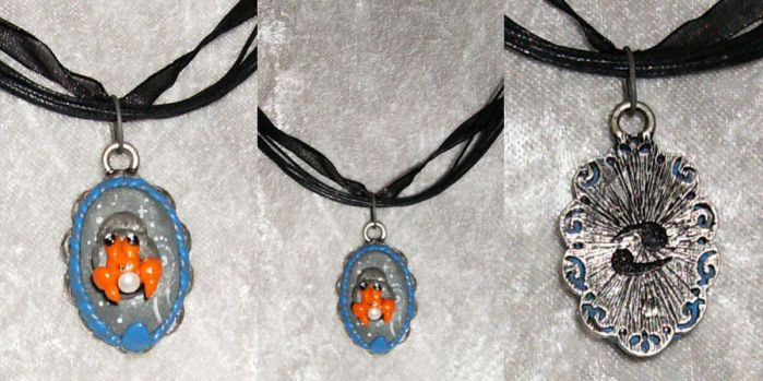 Dwebble Cancer Necklace by LaPetitLapearl