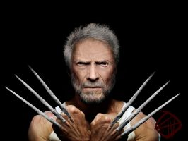 Clint Eastwood as Old Man Logan by Chiracy
