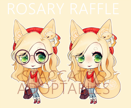 [CLOSED] Adoptable Rosary Raffle by Staccatos