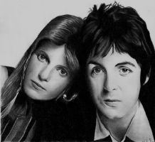 Paul and Linda McCartney II by Macca4ever