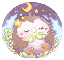 Rowlet by clover-teapot