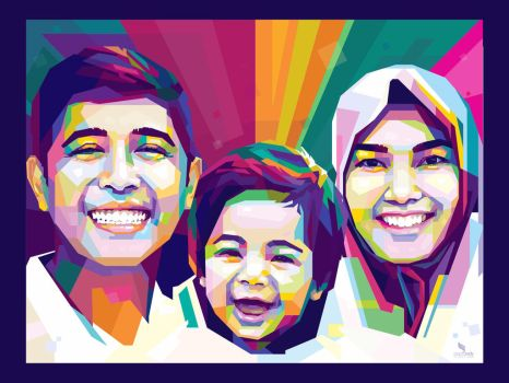A Family WPAP by opparudy