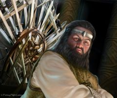 AGOT LCG: Robert Baratheon by Thaldir