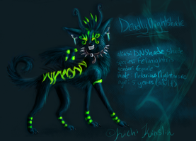 DeadlyNightshade Char sheet by KichisCrafts