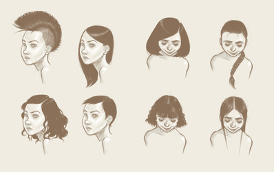 Hairstyles by FigBeater