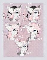 Pastel Kit's hairstyles by LaraWesker