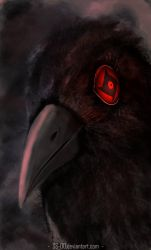 Itachi's Crow by SS-00
