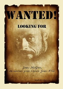 Wanted Captain Flint by letydb