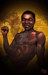 Fela Kuti by IronLion75