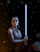 Rey Alone by BW-Straybullet