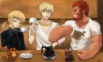 FZ - The Three Kings' Banquet...of Coffee by Athyra