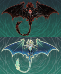 VINCULUM Concept: Corrupted and sacred beast by Webmegami