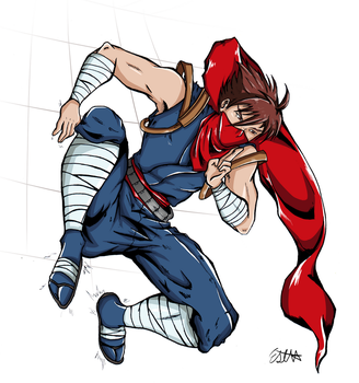 Strider Wall Cling by MisoKrattz