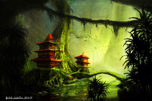 Forest Temple by Patagonian1991