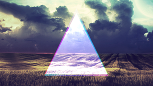 Triangle Wallpaper by xxxfab1