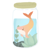 Whale Jar (Jhale) || Redbubble by ChyanChirps