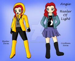 Angie-Healer Of Light Ref Sheet by Animecolourful