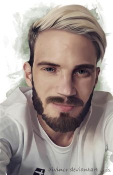 PewDiePie by Divinor
