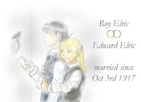 EdxRoy - Oct 3rd anniversary by ChibiEdo