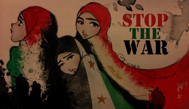 Stop The War by finieramos