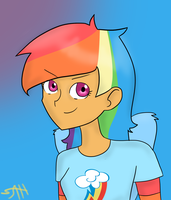 A New Dash by AnneHairball