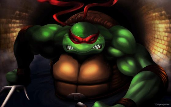 Raphael / Ninja Turtle by MightyGoodrum