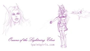 Oceana Lightning Elf by discipleneil777