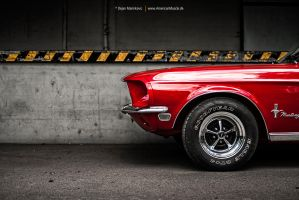 68 Mustang by AmericanMuscle