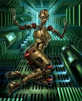 Android II by R-Valle