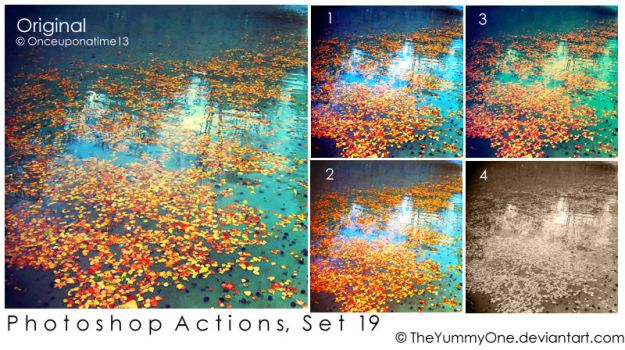 Photoshop Actions, Set 19 by TheYummyOne