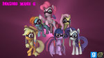 [DL] Inkling Mane 6 by MythicSpeed
