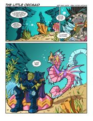 WoW Comic - The Little Orcmaid by Lukali
