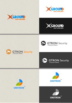 3 Business Logos by kqubekq