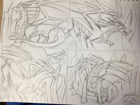 Voltrobane Rough Sketches by Vincent-Wullf