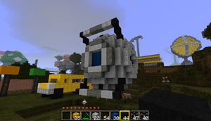 Wheatley in Minecraft by Terror-Inferno