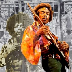 The legend of jimi, guitar hero by Ennapix