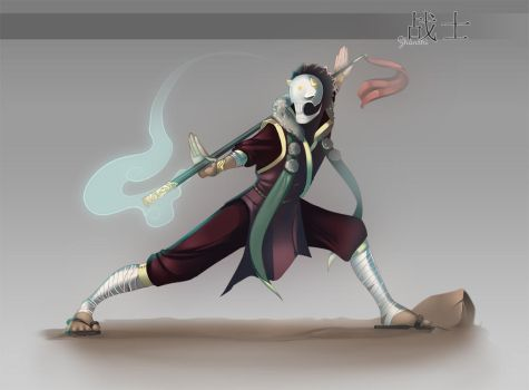 Zhanshi by RattledMachine