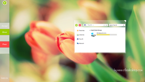Tulip Theme Windows 8.1 by Cleodesktop