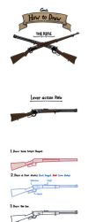 (Gmil) How to draw a Rifle by gmil123