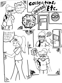 Meeting Jen page one by EnchantedNinja