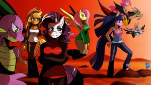 MLP: All Together by ss2sonic