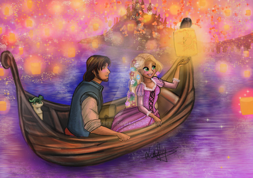 [ Tangled ] I See The Light by Laefey