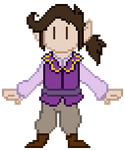 [Critical Role] Scanlan Pixel by TorpidTiger