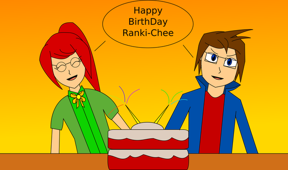 Happy B-Day Ranki-Chee by UberPrime