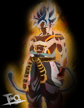 Goku Ultimate Form - Dragon Ball Absalon by Theo001