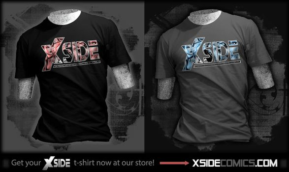 XSIDE Comics T-shirts by Elisa-Feliz