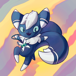 Meowstic by wandmeister
