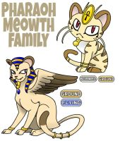 Meowth Family by ajkent14z