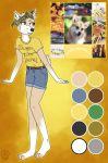 Adopt closed-flower Yellow Corig by Pinkwolfly